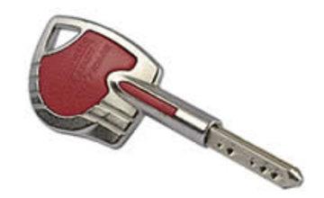 Assurance homme clé : pour éviter de la mettre sous la porte...
